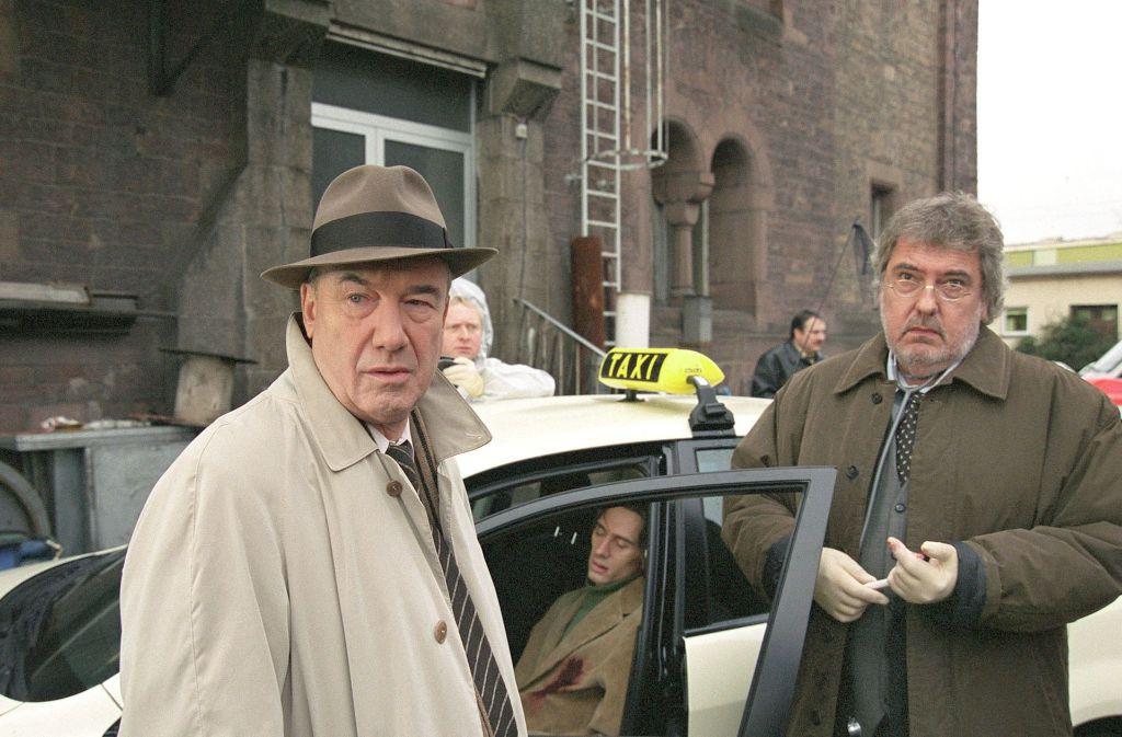 Dietz-Werner Steck in einem der vielen Tatort-Verfilmungen. Foto: SWR