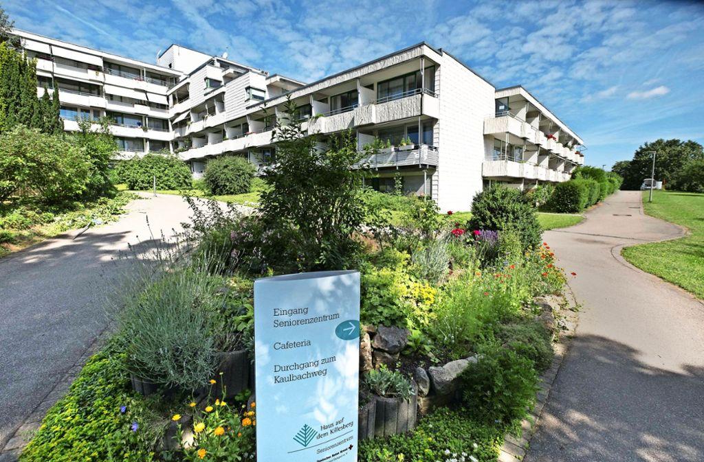 Das Haus am Killesberg  soll für Personalappartements genutzt werden. Foto: Lg/ Zweygarth