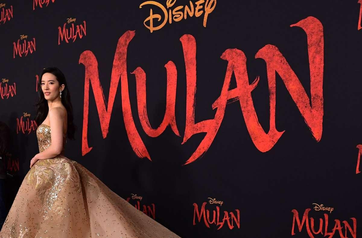"""Vorerst keine roten Teppiche, Interviews und Starauftritte: Auch der Start von """"Mulan"""" steht in Frage. Foto: AFP/Frederic J. Brown"""