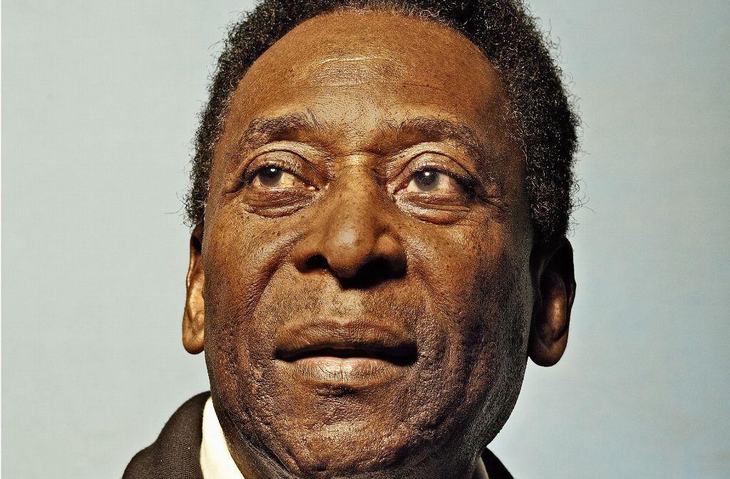 Der größte Fußballer aller Zeiten: Pelé Foto: Volker schrank