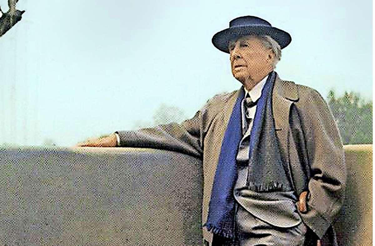 Architektonisch genial, menschlich schwierig: Frank Lloyd Wright Foto: SWR/William Short