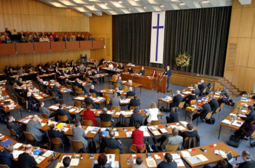 Die Synode der Evangelischen Landeskirche in Württemberg hat eine neue Präsidentin gewählt. (Archivfoto) Foto: dpa