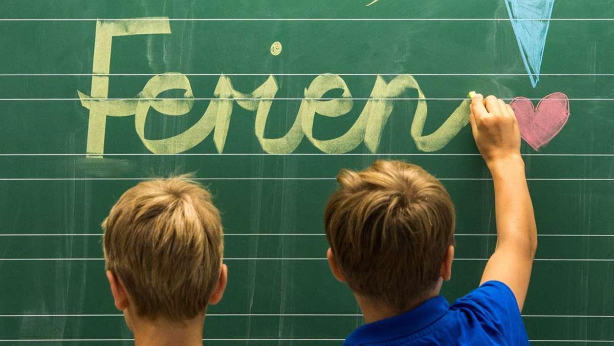 Ferien als Problem für Schüler in Baden-Württemberg?