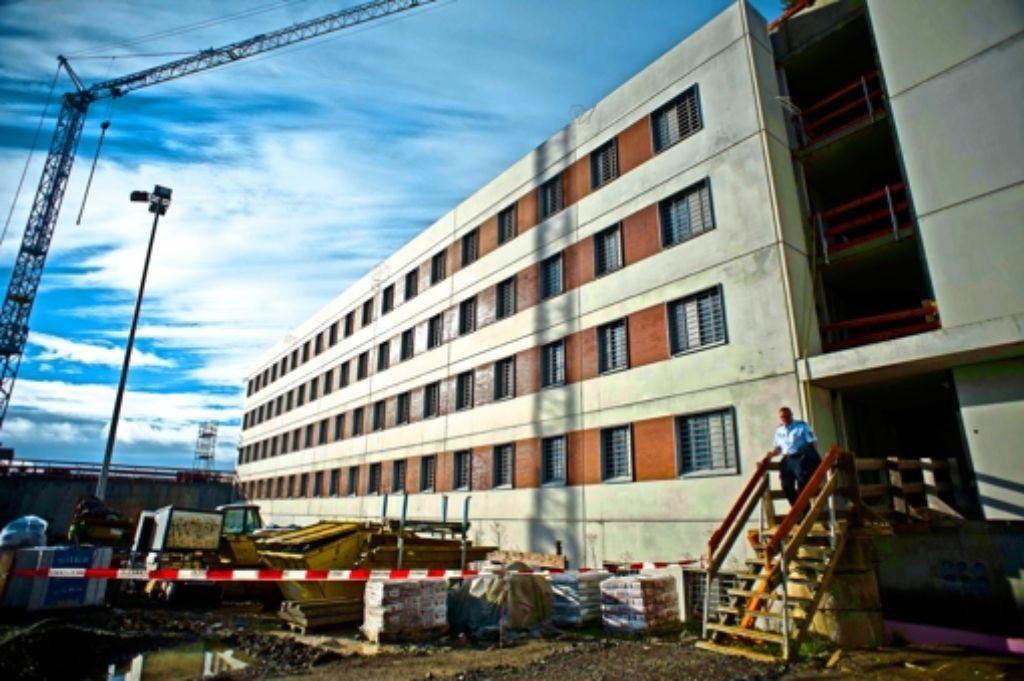 Der Neubau der Haftanstalt kostet 52Millionen Euro. Foto: Lichtgut/Max Kovalenko