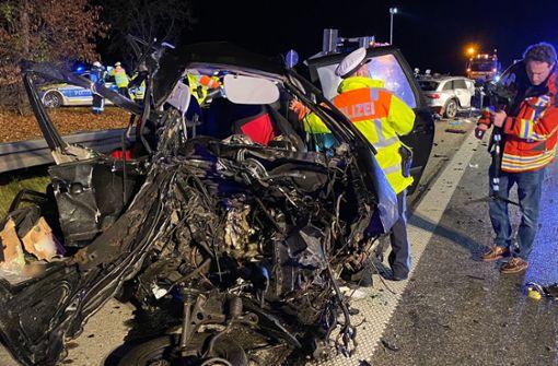 Geisterfahrer verursacht schweren Unfall mit vier Toten