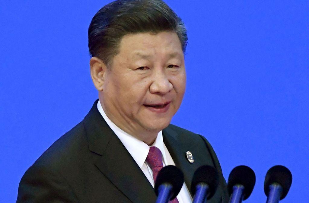 In einer mit Spannung erwarteten Rede auf dem asiatischen Wirtschaftsforum in Bo'ao in Südchina verschärfte Xi Jinping den Streit mit den USA vorerst nicht. Foto: Kyodo News