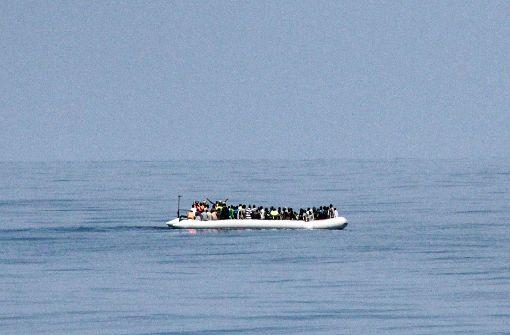 Schlepper lassen Migranten ertrinken