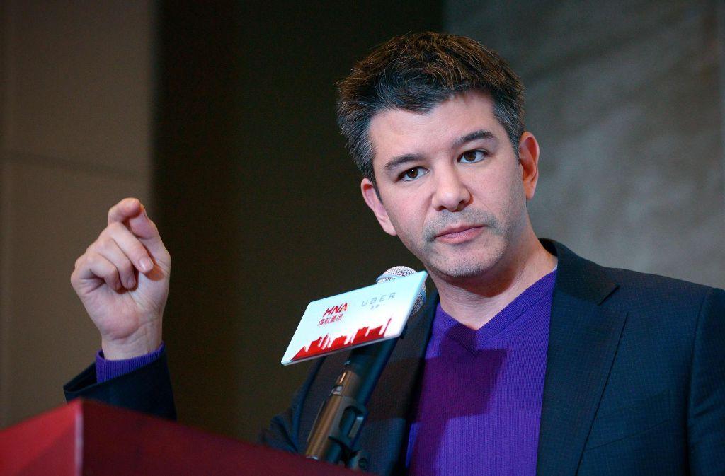 Uber-Chef Travis Kalanick muss sich massiven Vorwürfen stellen. Foto: AFP