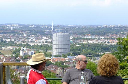 Wir stellen den Biergarten im Waldheim Gaisburg vor
