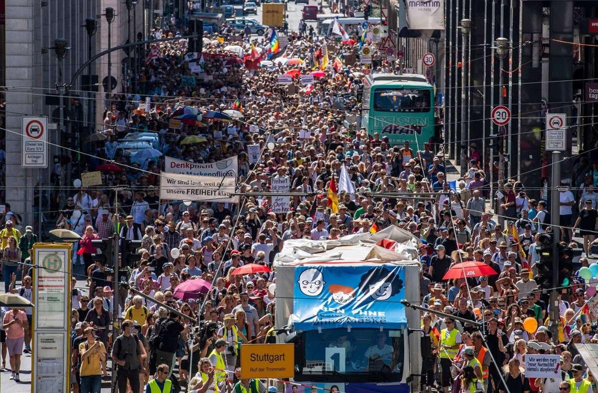 Demonstrationen Berlin übersicht