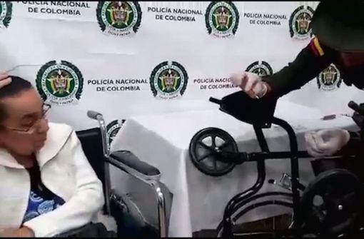 81-Jährige schmuggelt drei Kilogramm Kokain im Rollstuhl