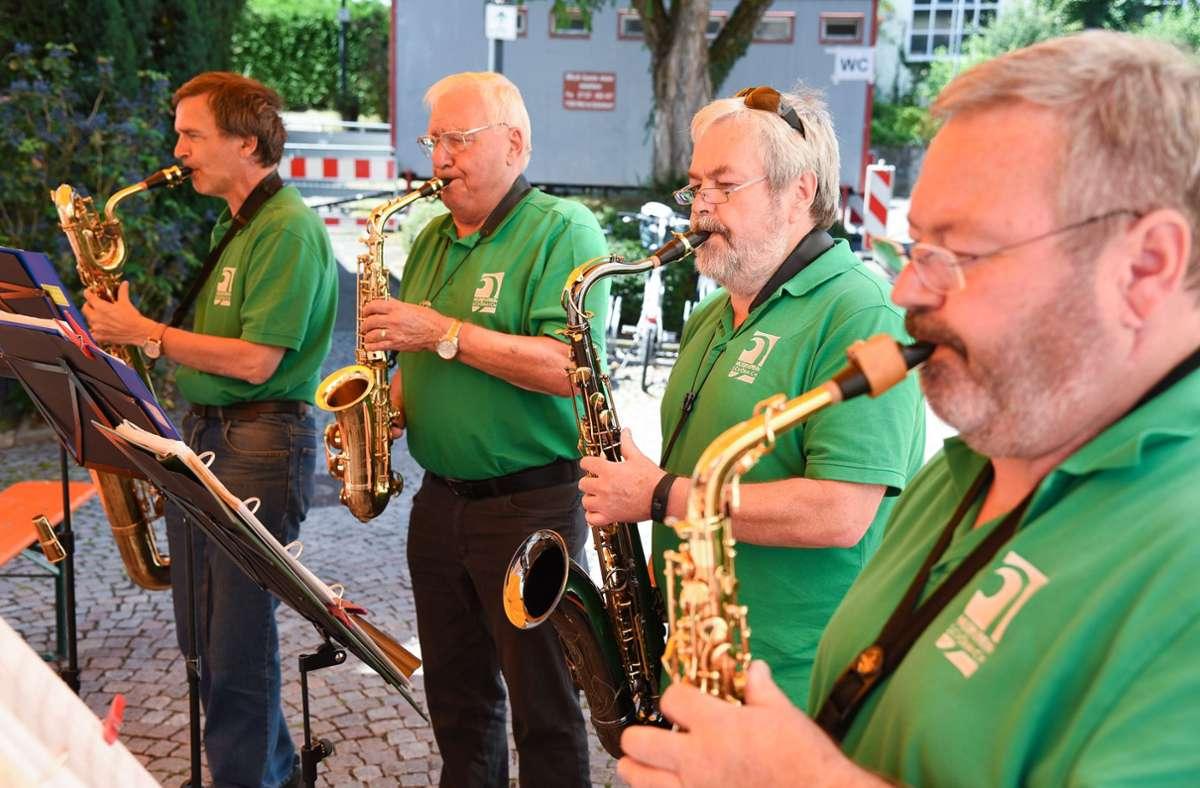 Zur Zeit leider nicht denkbar: Musikverein-Ensemble beim Entengassenfest Foto: /Thomas Bischof