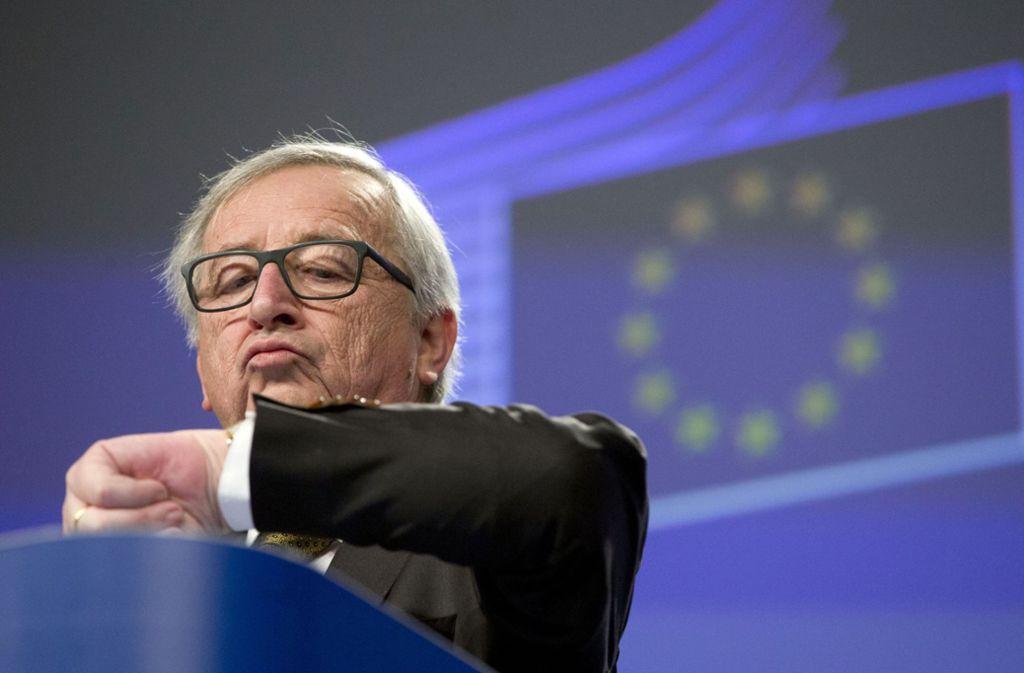 Jean-Claude Juncker, Kommissionspräsident der EU, hätte sich ein früheres Ende der Zeitumstellung gewünscht. Foto: dpa/Virginia Mayo