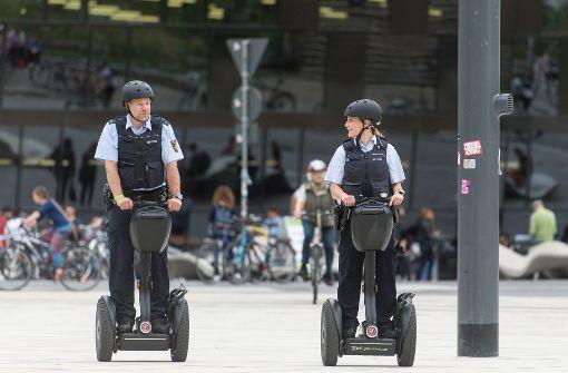 Polizisten testen Einsätze mit Segways
