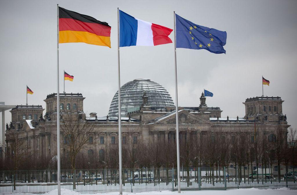 Frankreich und Deutschland sind heute Partner im europäischen Haus. Foto: dpa