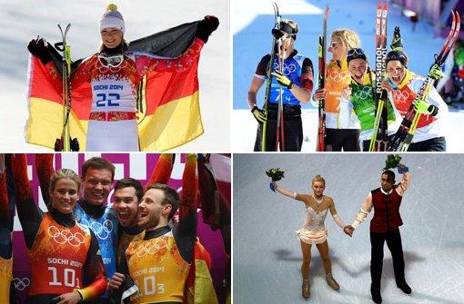 Unsere Medaillengewinner zum Durchklicken