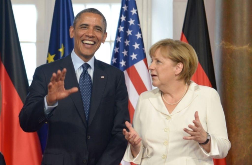 Barack Obama und Angela Merkel: eine routinierte Partnerschaft? Foto: dpa