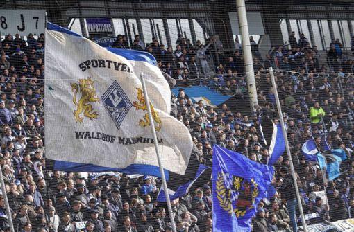 SV Waldhof Mannheim  fordert Drittliga-Abbruch