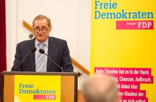Die FDP schickt keinen eigenen Kandidaten ins Rennen