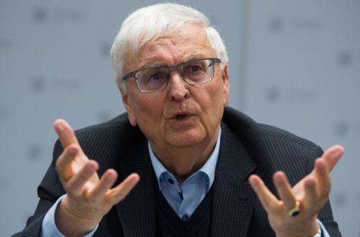 Theo Zwanziger fordert hauptamtlichen DFB-Präsidenten