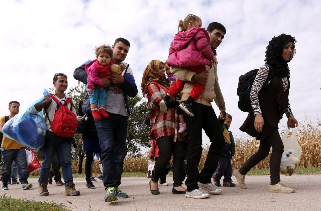 Kroatien hatte während der Flüchtlingskrise für Menschen vom Balkan seine Grenzen geöffnet. Foto: epa