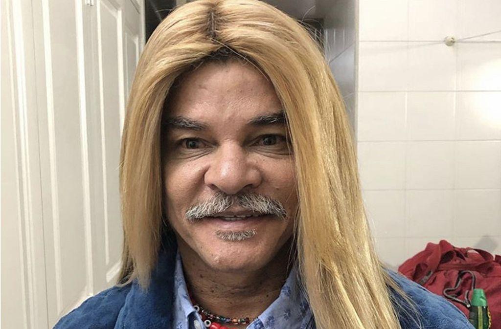Carlos Valderrama zeigt sich seinen Fans mit ungewohnter neuer Frisur. Foto: Instagram