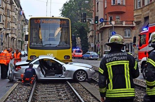 Mehr Unfälle mit Stadtbahnen