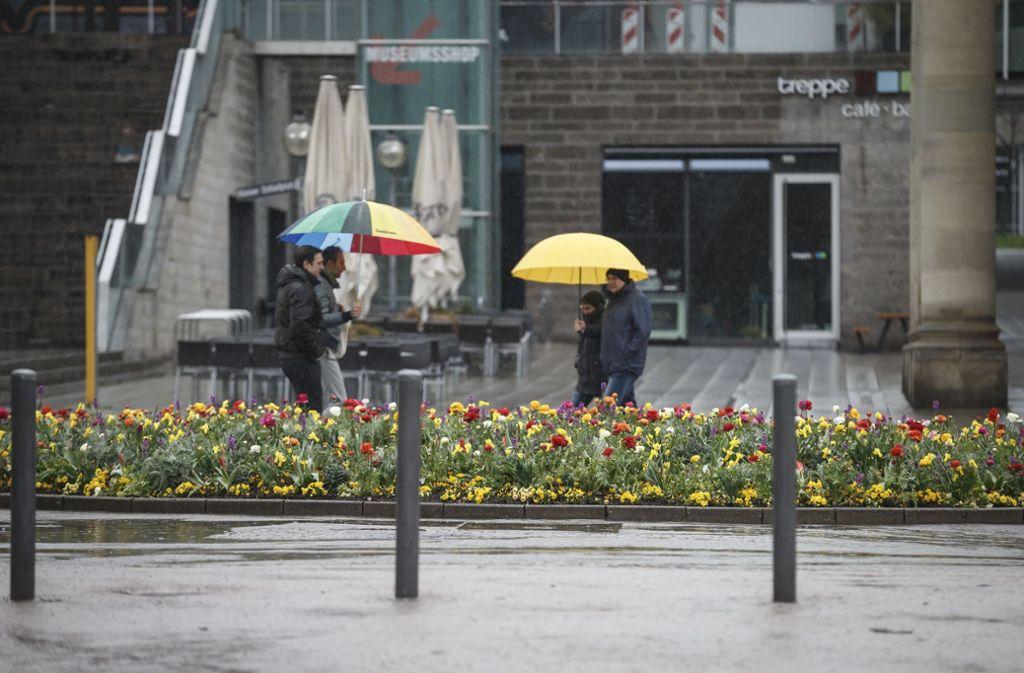 Es wird ungemütlich in Stuttgart und der Region. Foto: Lichtgut/Julian Rettig