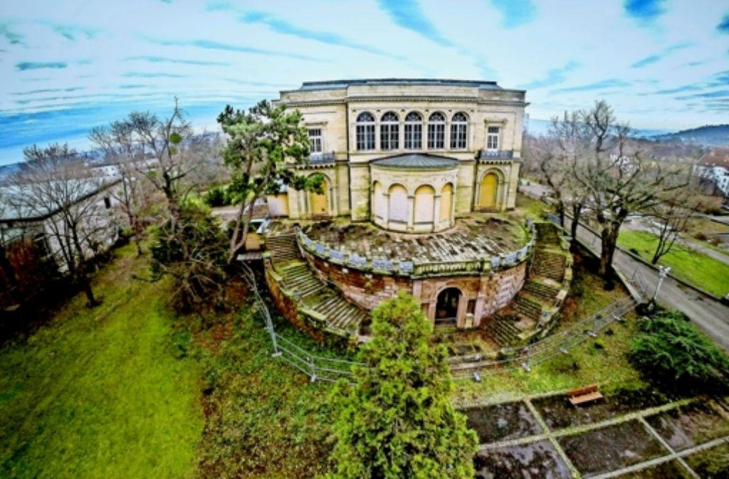 Leise bröckelt der Putz: Die Villa Berg muss dringend saniert werden. Foto: 7aktuell.de/Dyhringer