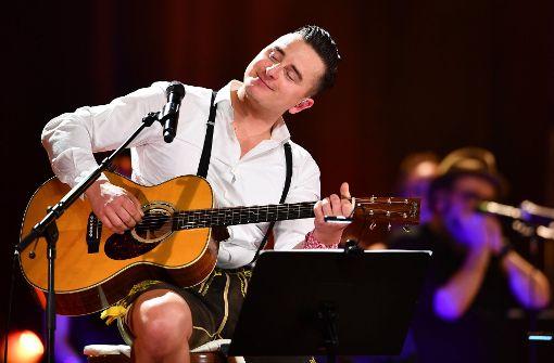 """Volks-Rock'n'Roller""  unplugged in Mannheim"