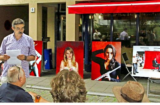 Liebeserklärung in Rot an Stuttgart