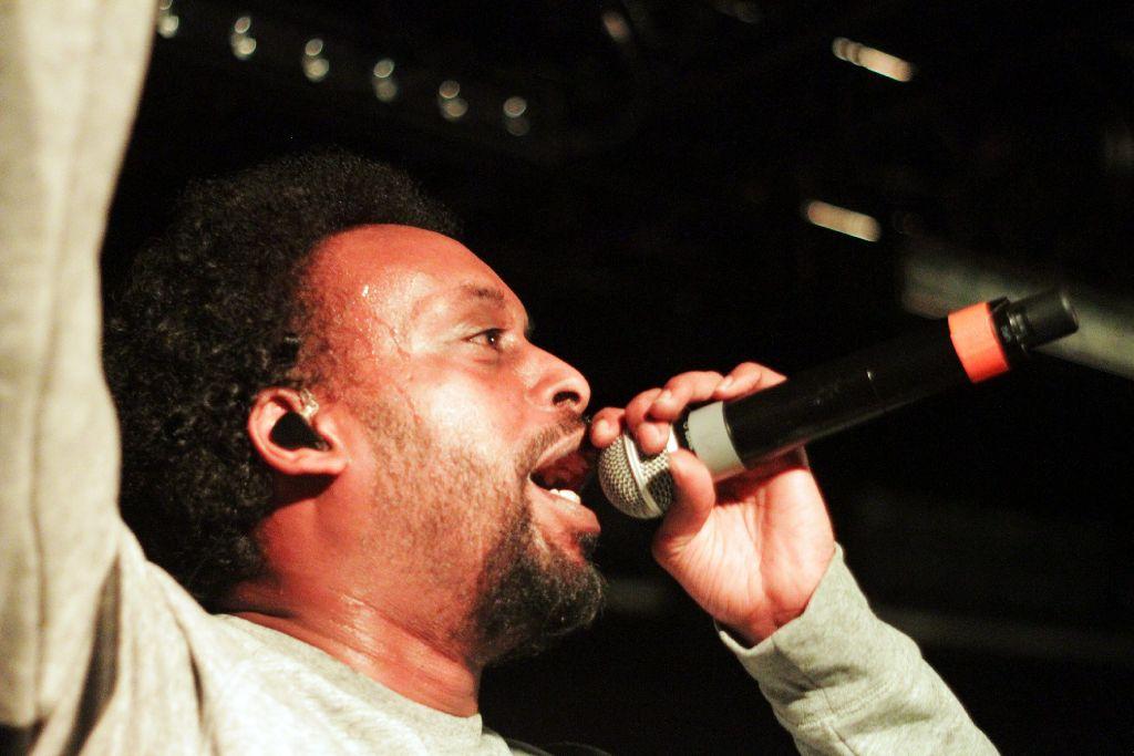 Afrob hat am Donnerstag in der Schräglage gespielt. Die folgende Bilderstrecke zeigt ein paar Eindrücke vom Konzert. Foto: Jan Georg Plavec