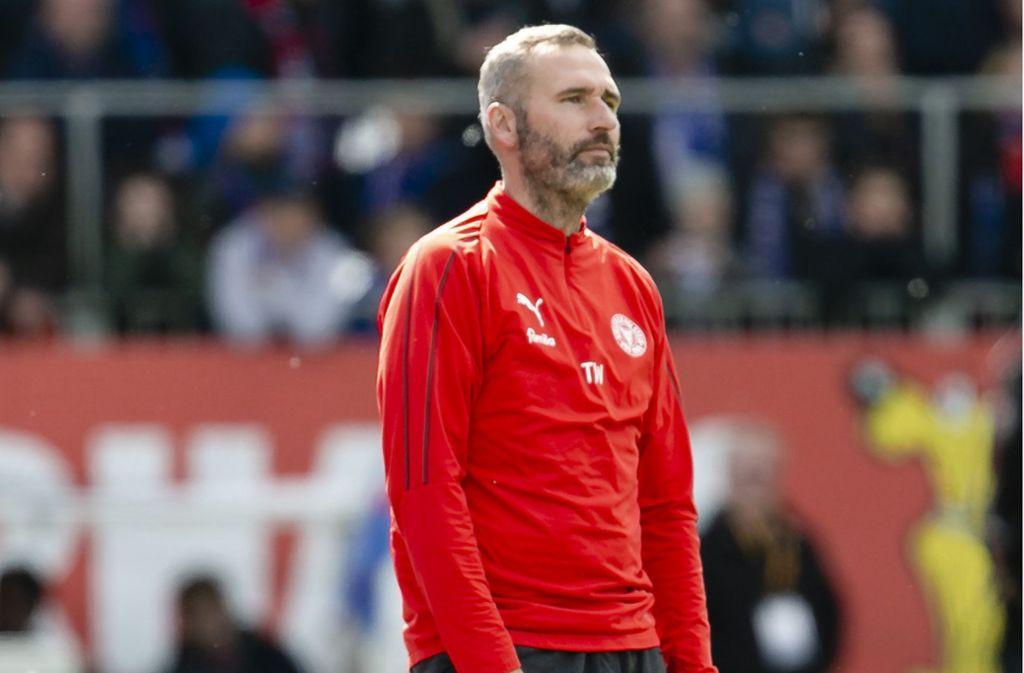 Tim Walter übernimmt ab der neuen Saison den Trainerposten beim VfB Stuttgart. Seine Vorgänger auf der Trainerbank der Roten sehen Sie in unserer Bildergalerie. Foto: dpa