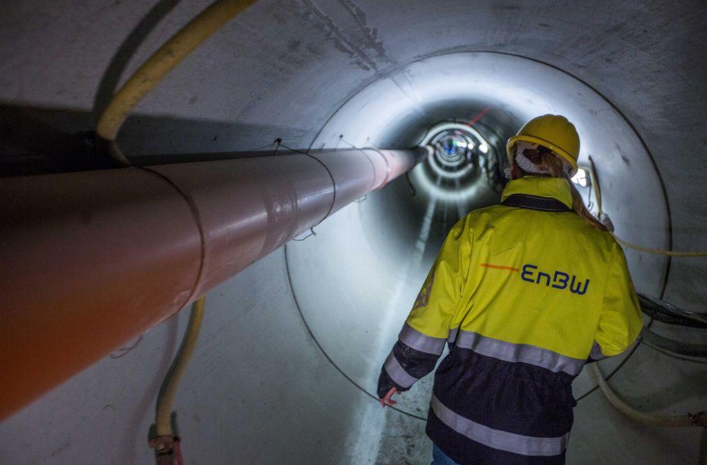 Im Jahr 2017 baute die EnBW eine neue Fernwärmeleitung zwischen dem Bereich Nordbahnhof und Feuerbach. Die EnBW-Leitungen waren da schon Zankapfel. Foto: 7aktuell.de/Simon Adomat