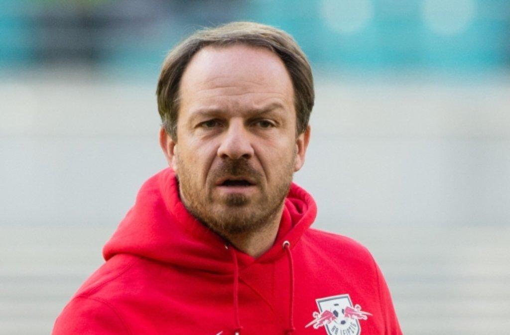 Alexander Zorniger soll wohl spätestens im Sommer Trainer beim VfB Stuttgart werden. Das hat ... Foto: dpa-Zentralbild