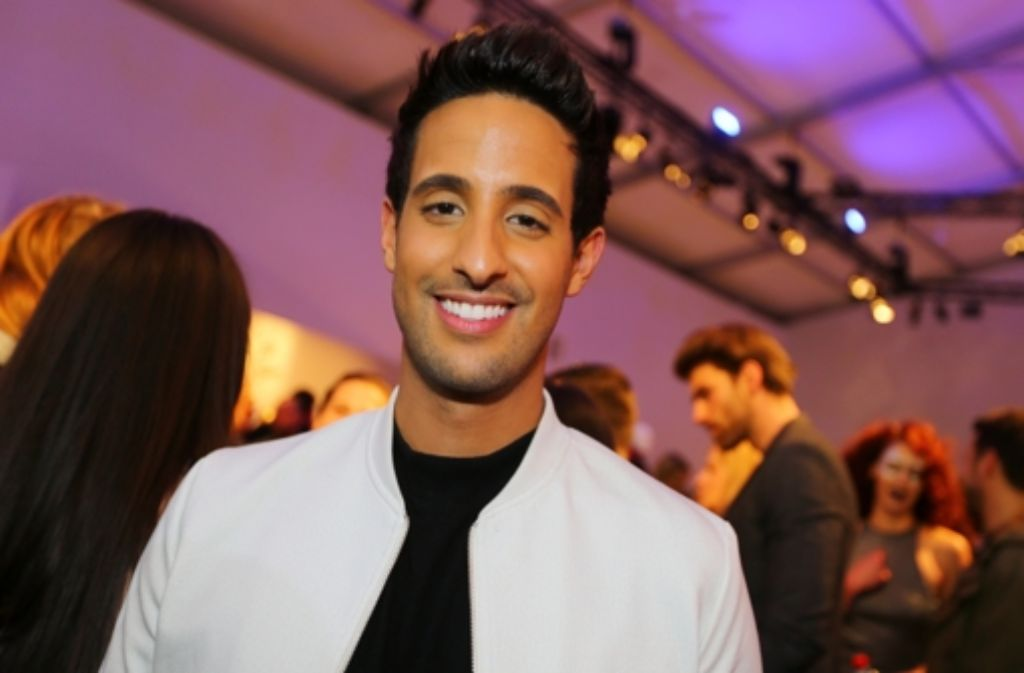 YouTube-Star Sami Slimani auf der Mercedes-Benz Fashion Week in Berlin. Foto: Getty Images Europe