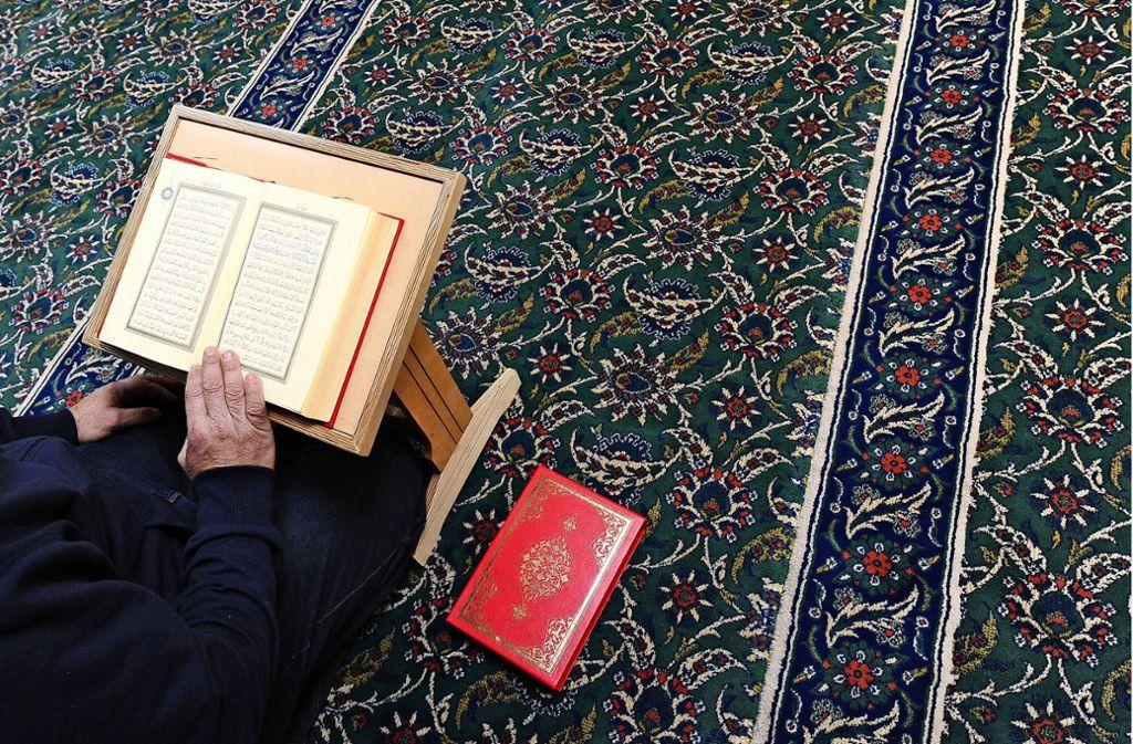 Der Neubau der Moschee, in dem es auch Islamunterricht für Kinder und  Jugendliche  geben soll, sorgt weiterhin für heftige Diskussionen. Foto: dpa/Angelika Warmuth
