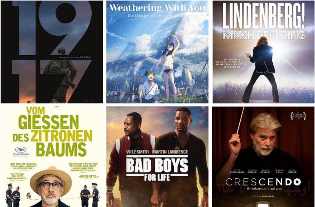 Einige Filmplakate der Woche Foto: Verleiher