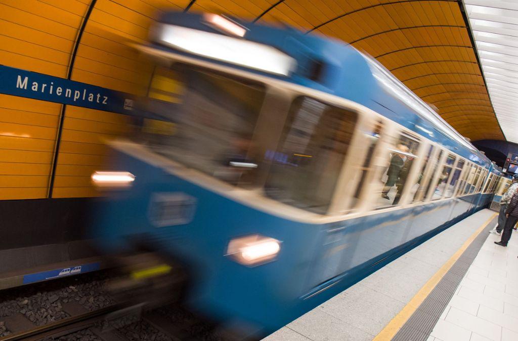 Die Münchener U-Bahn soll sicherer werden. Foto: dpa