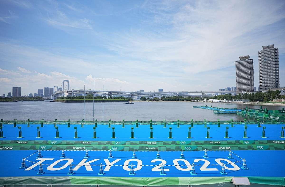 Die Zahl der seit 1. Juli ermittelten positiven Coronatests im Vorfeld der Olympischen Spiele stieg damit insgesamt auf 67. Foto: dpa/Michael Kappeler