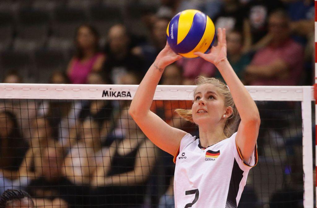 Feines Händchen: Pia Kästner spielt auch im Nationalteam eine wichtige Rolle. Foto: Baumann