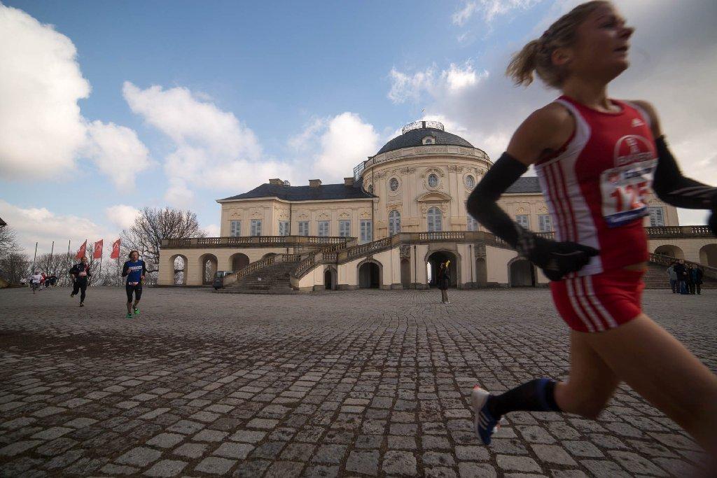 Anspruchs- und landschaftlich reizvoll zieht der 28. Internationale Solitudelauf am Sonntag erneut viele Läufer an. Wir haben die schönsten Momente in Bildern festgehalten. Foto: www.7aktuell.de   Florian Gerlach