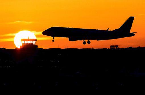 Klimavorstöße bremsen Flugbranche