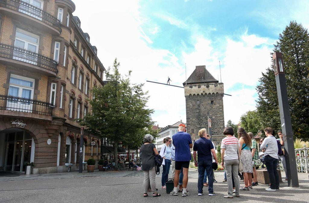 Die Landesregierung will die Regeln für Veranstaltungen  – hier eine Stadtführung in Esslingen – ändern. Doch über die Details besteht noch kein Konsens. Foto: Tom Weller/weller