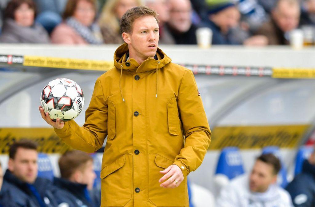Julian Nagelsmann ist seit Februar 2016 Trainer der TSG 1899 Hoffenheim Foto: dpa