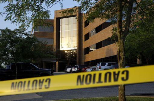 Ermittlungen wegen Mordes nach Todesschüssen in US-Zeitungsredaktion