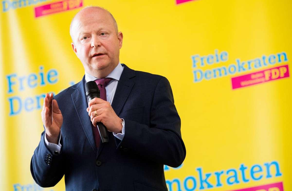 Dringt auf drastische Entlastungen vor allem für kleine und mittlere für Unternehmen: Baden-Württembergs FDP-Chef Michael Theurer. Foto: dpa/Tom Weller