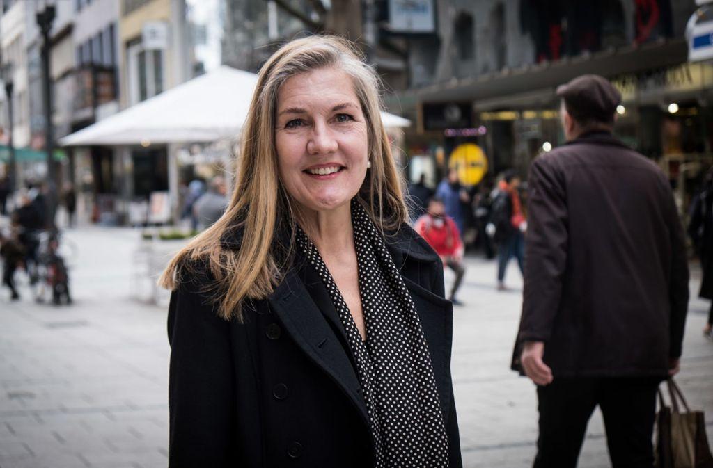 Veronika Kienzle fühlt sich für die Aufgabe als OB-Kandidatin der Grünen gut gerüstet. Foto: Lichtgut/Achim Zweygarth