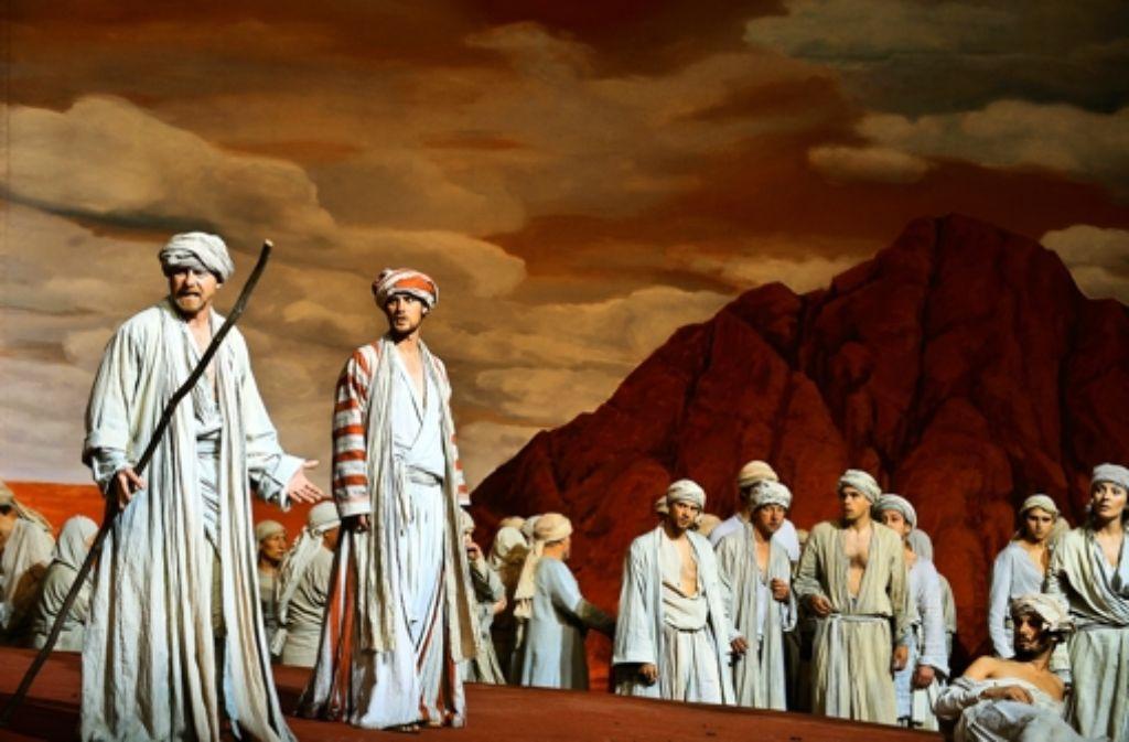 Die Israeliten in der Wüste: ratlos. Foto: dpa