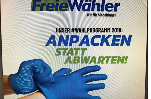 Wahlprogramm mit Tatort-Szene